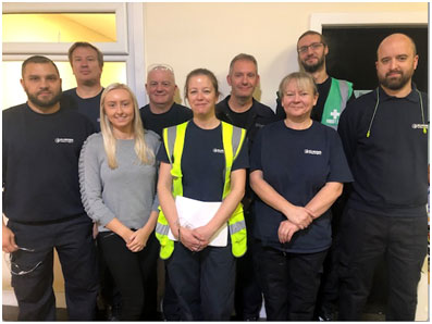 Participants of the IOSH Working Safely course
