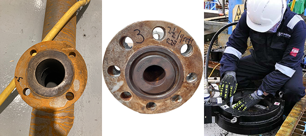 Treating Corroded and Damaged Flanges